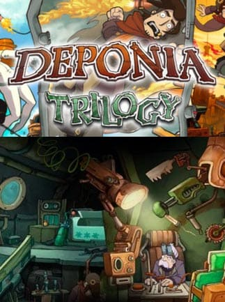 Deponia Trilogy Steam Key GLOBAL - gameplay - 39