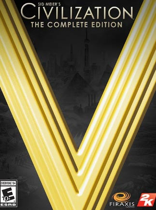 Sid Meier's Civilization V: Complete Edition Steam Key GLOBAL - ボックス