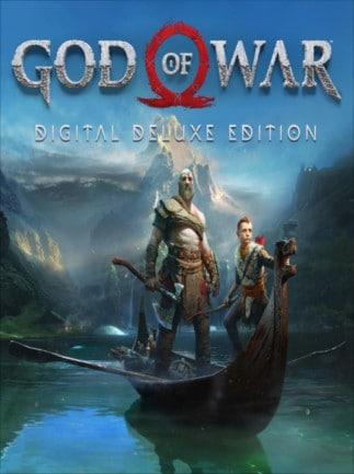 God of War Digital Deluxe Edition PSN Key UNITED KINGDOM - box