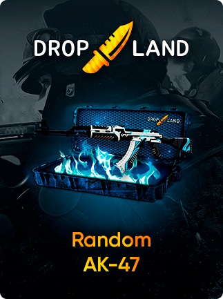 Counter-Strike: Global Offensive RANDOM AK47 SKIN BY DROPLAND NET Code  GLOBAL - G2A COM