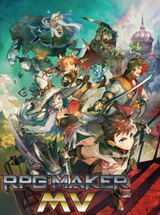 RPG Maker MV Steam Key GLOBAL - box
