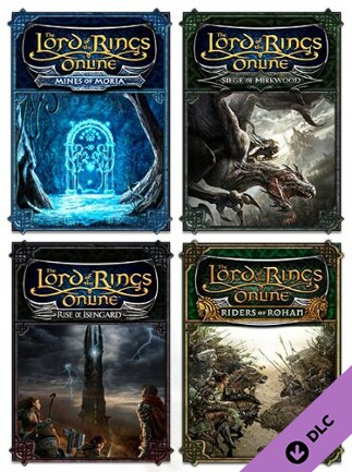 The Lord of the Rings Online: Quad Pack LOTRO Key GLOBAL - G2A COM