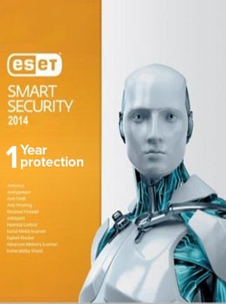 ESET Smart Security 3 Devices GLOBAL Key PC ESET 1 Year - box