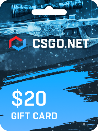CSGO net Gift Card UNITED STATES 20 USD - G2A COM