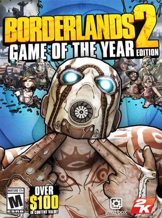Borderlands 2 GOTY Steam Key GLOBAL – boîte