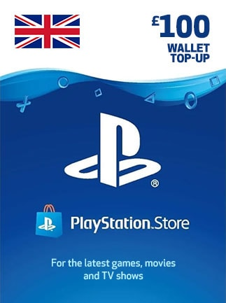 PlayStation Network Gift Card 100 GBP - PSN UNITED KINGDOM
