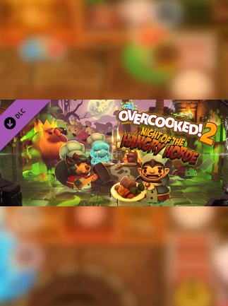 Overcooked! 2 - Night of the Hangry Horde Steam Gift NORTH AMERICA