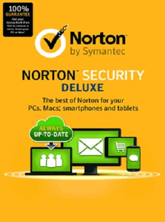 Norton Security Deluxe 3 Devices 1 Year Symantec Key GLOBAL