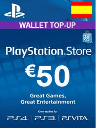 playstation network gift card 50 eur psn spain g2a com. Black Bedroom Furniture Sets. Home Design Ideas