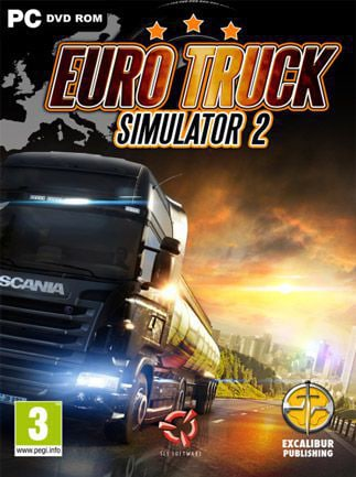 Euro Truck Simulator 2 Steam Key GLOBAL - caja
