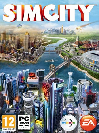 SimCity Standard Edition Origin Key GLOBAL - box