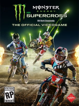 Image result for Monster Energy Supercross cover pc