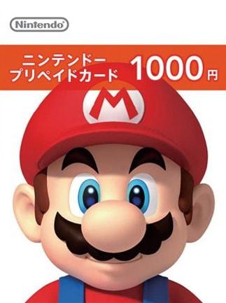 Nintendo eShop Card 1 000 YEN Nintendo JAPAN - G2A COM