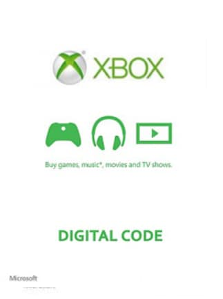 XBOX Live 100 TRY Card XBOX LIVE WESTERN ASIA
