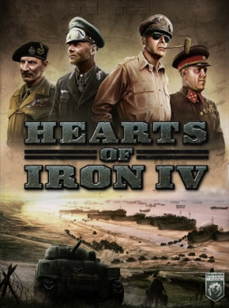 Hearts of Iron IV: Cadet Edition Steam Key GLOBAL - box