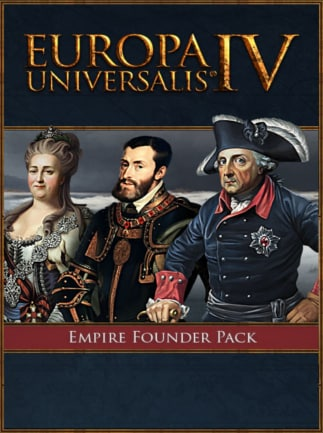 Europa Universalis IV: Empire Founder Pack Steam Key GLOBAL - G2A COM