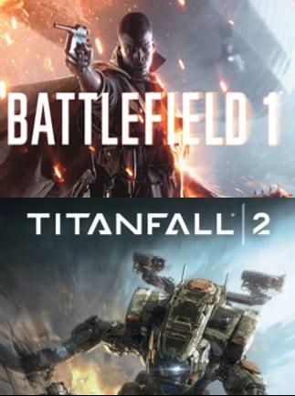 battlefield 1 titanfall 2 deluxe bundle psn key ps4 north america