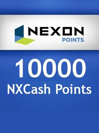 Nexon NXCash Points Game Card 10 000 Points Nexon EUROPE