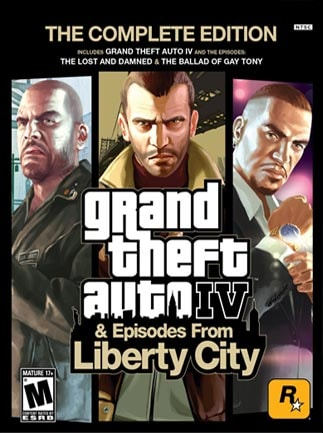 Grand Theft Auto IV Complete Edition Steam Key GLOBAL - box
