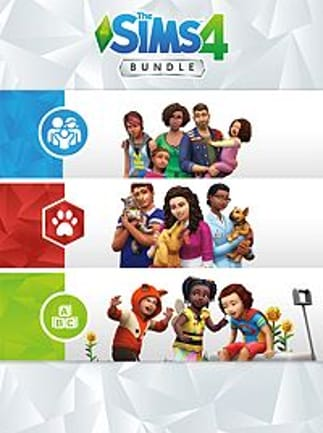 The Sims 4 Bundle - Cats & Dogs, Parenthood, Toddler Stuff XBOX LIVE Key UNITED STATES