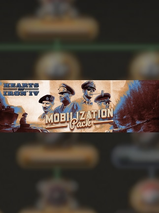 HEARTS OF IRON IV: MOBILIZATION PACK Steam Key GLOBAL - G2A COM