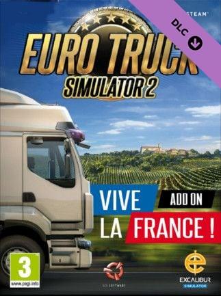 Euro Truck Simulator 2 - Vive la France! (PC) - Buy Steam Game CD-Key