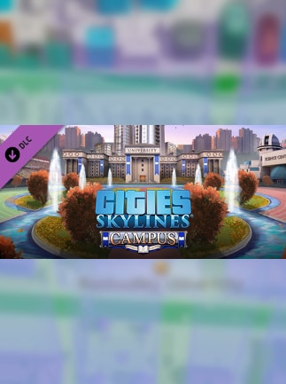Cities: Skylines - Campus Steam Key GLOBAL