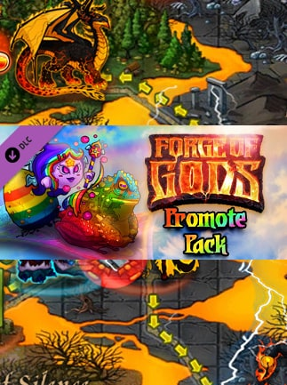 Forge of Gods: Promote pack Steam Key GLOBAL