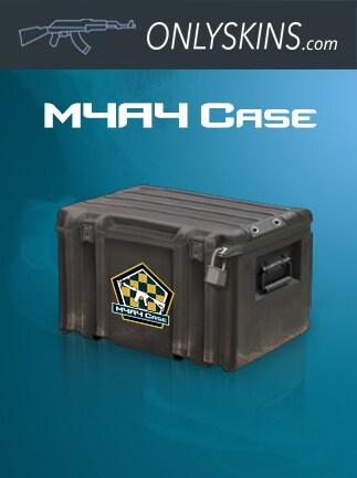Counter-Strike: Global Offensive RANDOM M4A4 SKIN Onlyskins.com Code GLOBAL - box