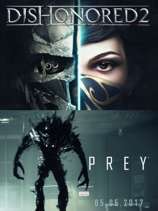 Prey + Dishonored 2 Bundle Steam Key GLOBAL - G2A COM