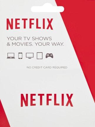 Netflix Gift Card 25 EUR EUROPE - box