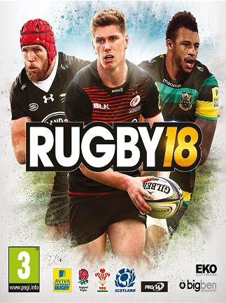 RUGBY 18 XBOX LIVE Key XBOX ONE GLOBAL - box