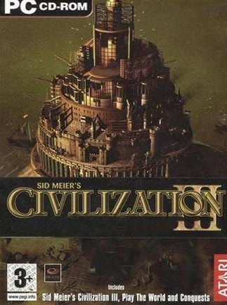 Sid Meier's Civilization III Complete Steam Key GLOBAL - scatola