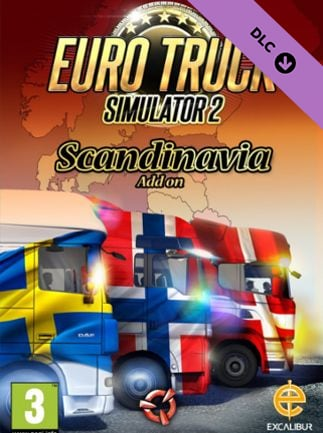Euro Truck Simulator 2 – Scandinavia (PC) - Buy Steam Game CD-Key