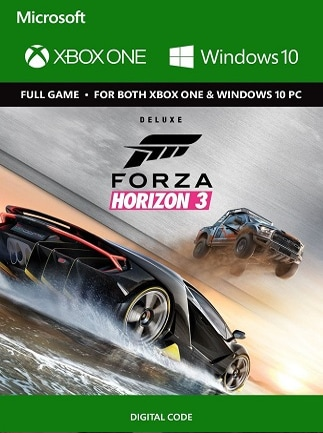 Forza Horizon 3 XBOX ONE / WINDOWS 10 - Buy Game PC CD-Key