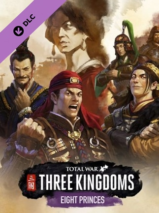 Total War: THREE KINGDOMS - Eight Princes Steam Gift GLOBAL