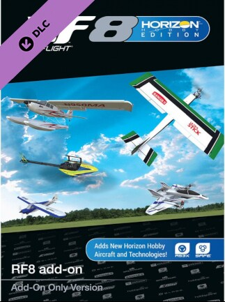 RealFlight 8 Horizon Hobby Edition Add-On Steam Gift GLOBAL