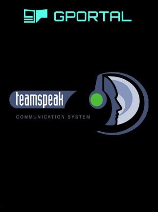 teamspeak server 50 slots