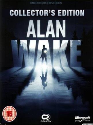 Alan Wake Collector's Edition Steam Key GLOBAL - okładka