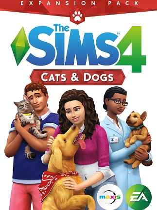 The Sims 4: Cats & Dogs Key Origin PC GLOBAL - box