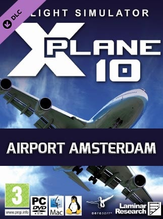X-Plane 10 Global - 64 Bit - Airport Amsterdam Key Steam