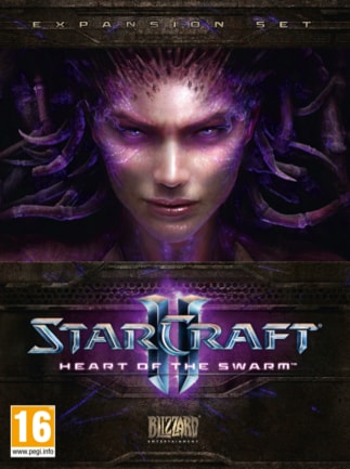 Starcraft 2: Heart of the Swarm Key Blizzard EUROPE - box