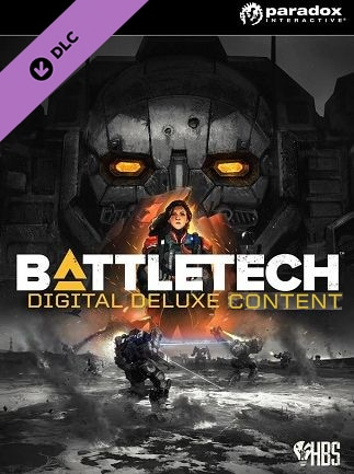 BATTLETECH Digital Deluxe Content Steam Key GLOBAL
