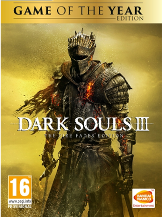 Dark Souls III Fire Fades Edition Steam Key GLOBAL