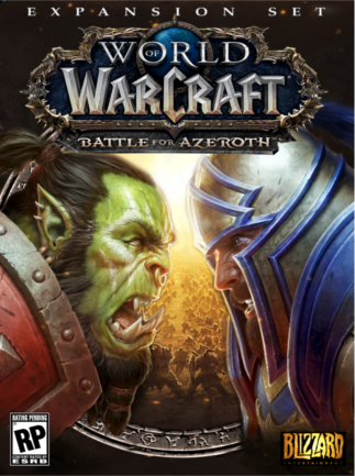 World of Warcraft: Battle for Azeroth Blizzard Key EUROPE - box
