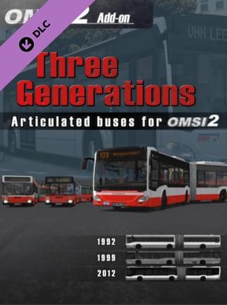 OMSI 2 Add-on Three Generations Steam Key GLOBAL - G2A COM