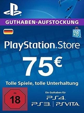 PlayStation Network Gift Card 75 EUR PSN GERMANY - Screenshot - 1