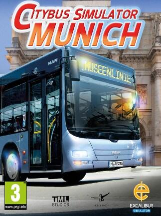 munich bus simulator steam key global g2a com. Black Bedroom Furniture Sets. Home Design Ideas