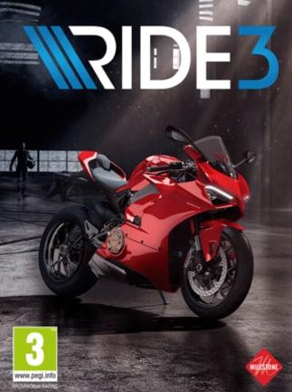 Ride 3 Steam Key EUROPE - box