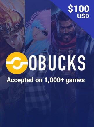 oBucks Gift Card 100 USD - oBucks Key - GLOBAL